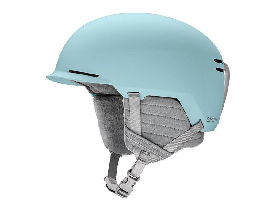 SMITH Scout Jr. Youth Snow Helmet Matte Polar Blue 2021 SNOWBOARD ACCESSORIES - Youth Snowboard Helmets Smith