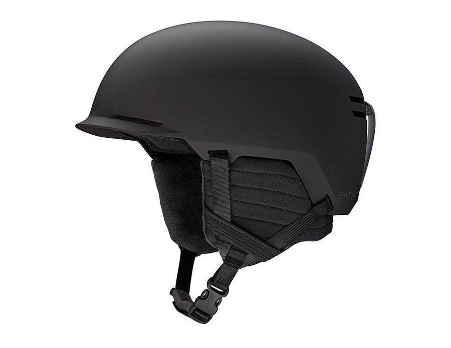 SMITH Scout Jr. Youth Snow Helmet Matte Black 2021 SNOWBOARD ACCESSORIES - Youth Snowboard Helmets Smith