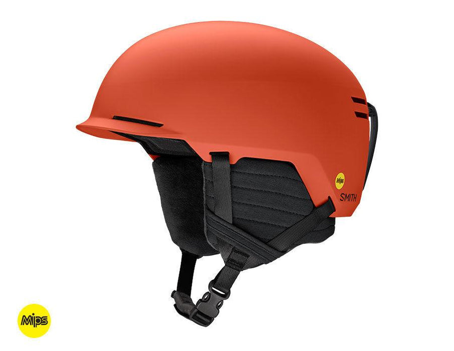SMITH Scout MIPS Snow Helmet Matte Burnt Orange 2021 SNOWBOARD ACCESSORIES - Men's Snowboard Helmets Smith