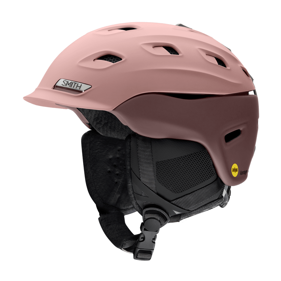 SMITH Vantage MIPS Snow Helmet Women's Rock Salt/Tannin 2021 SNOWBOARD ACCESSORIES - Women's Snowboard Helmets Smith