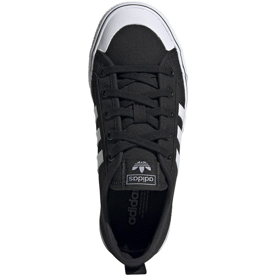 ADIDAS Nizza Shoes Kids Core Black/Cloud White/Cloud White FOOTWEAR - Youth and Toddler Skate Shoes Adidas