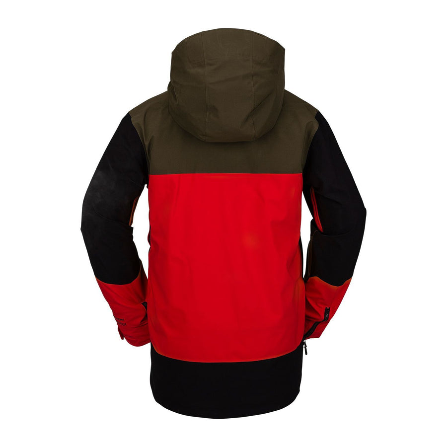 VOLCOM BL Stretch GORE-TEX Snowboard Jacket Red 2021 MENS OUTERWEAR - Men's Snowboard Jackets Volcom