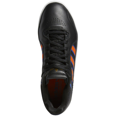 ADIDAS Tyshawn Shoes Core Black/Orange/Royal Blue FOOTWEAR - Men's Skate Shoes Adidas