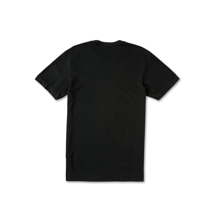VOLCOM Stone Tech T-Shirt Black MENS APPAREL - Men's Short Sleeve T-Shirts Volcom M