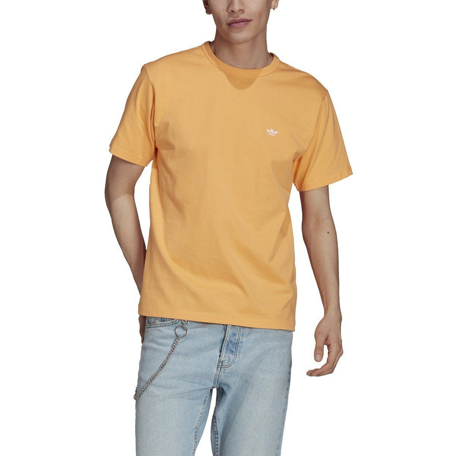 ADIDAS Heavyweight Shmoofoil T-Shirt Hazy Orange/White MENS APPAREL - Men's Short Sleeve T-Shirts Adidas