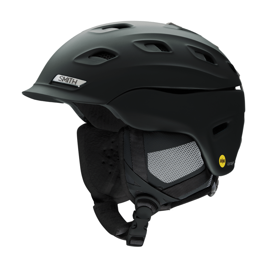 SMITH Vantage MIPS Women's Snow Helmet Matte Black 2021 SNOWBOARD ACCESSORIES - Women's Snowboard Helmets Smith