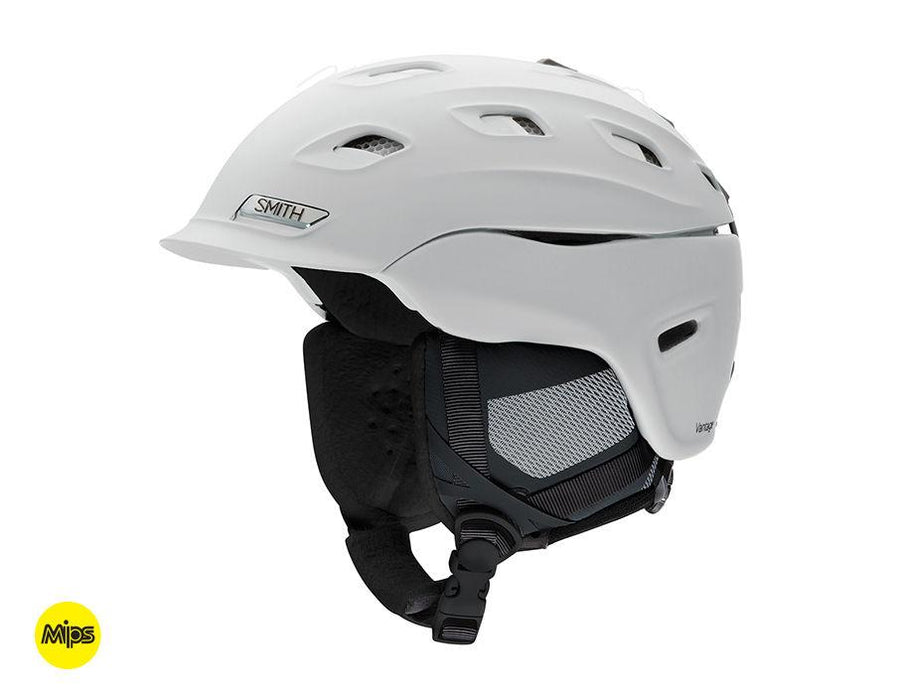 SMITH Vantage Women's Snow Helmet Matte White 2021 SNOWBOARD ACCESSORIES - Women's Snowboard Helmets Smith