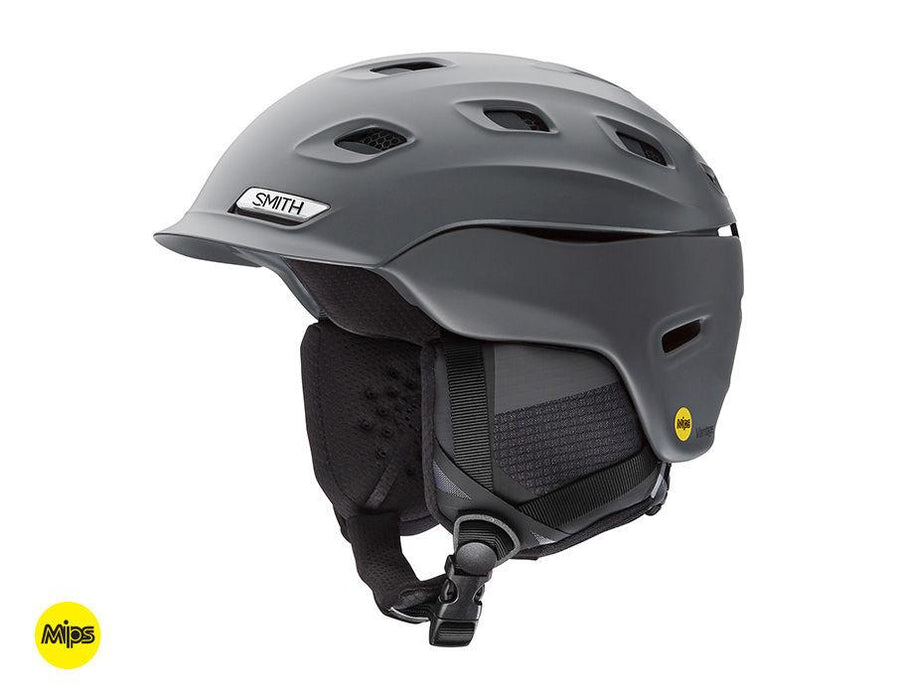 SMITH Vantage MIPS Snow Helmet Matte Charcoal 2021 SNOWBOARD ACCESSORIES - Men's Snowboard Helmets Smith