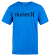 HURLEY Everyday Washed One And Only Solid T-Shirt Signal Blue MENS APPAREL - Men's Short Sleeve T-Shirts Hurley M