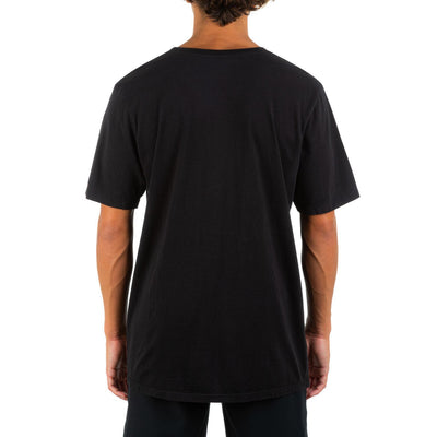 HURLEY Everyday Washed One And Only Slashed T-Shirt Black MENS APPAREL - Men's Short Sleeve T-Shirts Hurley