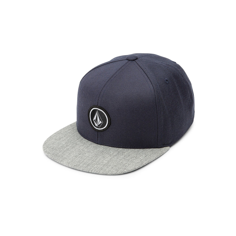 VOLCOM Quarter Snapback Hat Youth Blue KIDS APPAREL - Boy's Hats Volcom