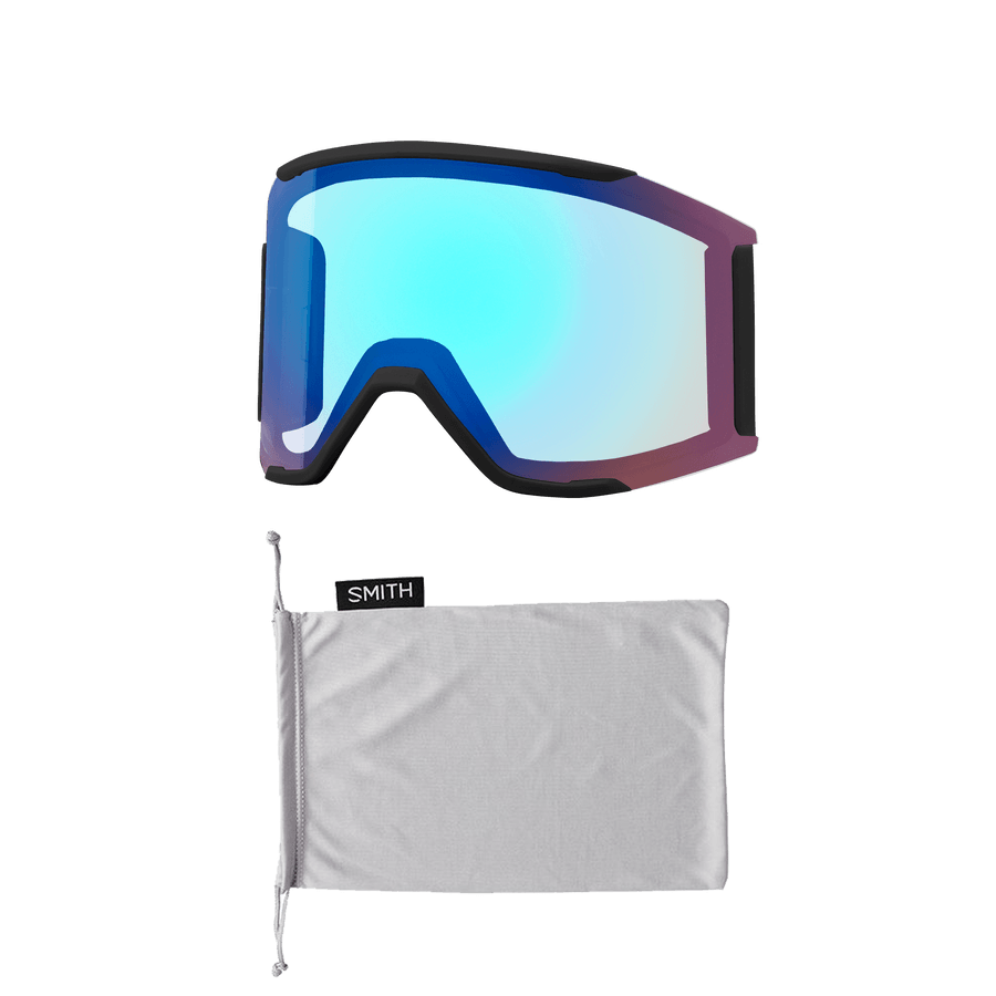 SMITH Squad MAG Polar Tie Dye - ChromaPop Sun Black + ChromaPop Storm Rose Flash Snow Goggle GOGGLES - Smith Goggles Smith