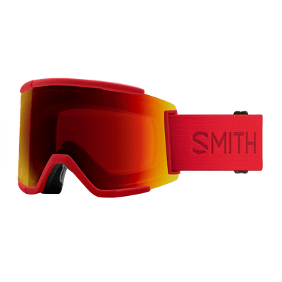 SMITH Squad XL Lava - ChromaPop Sun Red Mirror + ChromaPop Storm Rose Flash Snow Goggle GOGGLES - Smith Goggles Smith