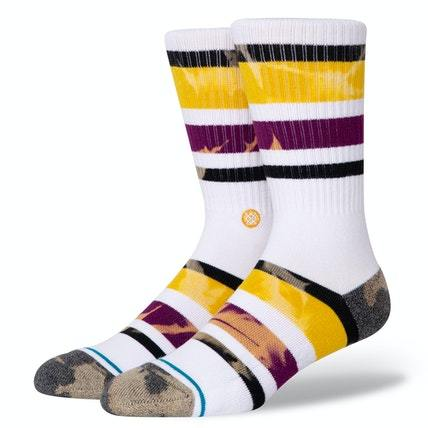 STANCE Brong Socks Purple MENS ACCESSORIES - Men's Socks Stance