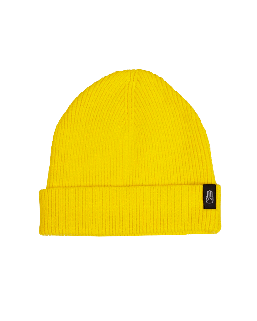 BATALEON Murray Beanie Yellow MENS ACCESSORIES - Men's Beanies Bataleon
