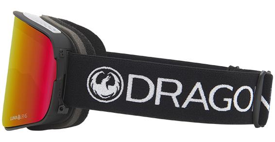 DRAGON NFX2 Comp - Lumalens Red Ion + Lumalens Rose Snow Goggle GOGGLES - Dragon Goggles Dragon