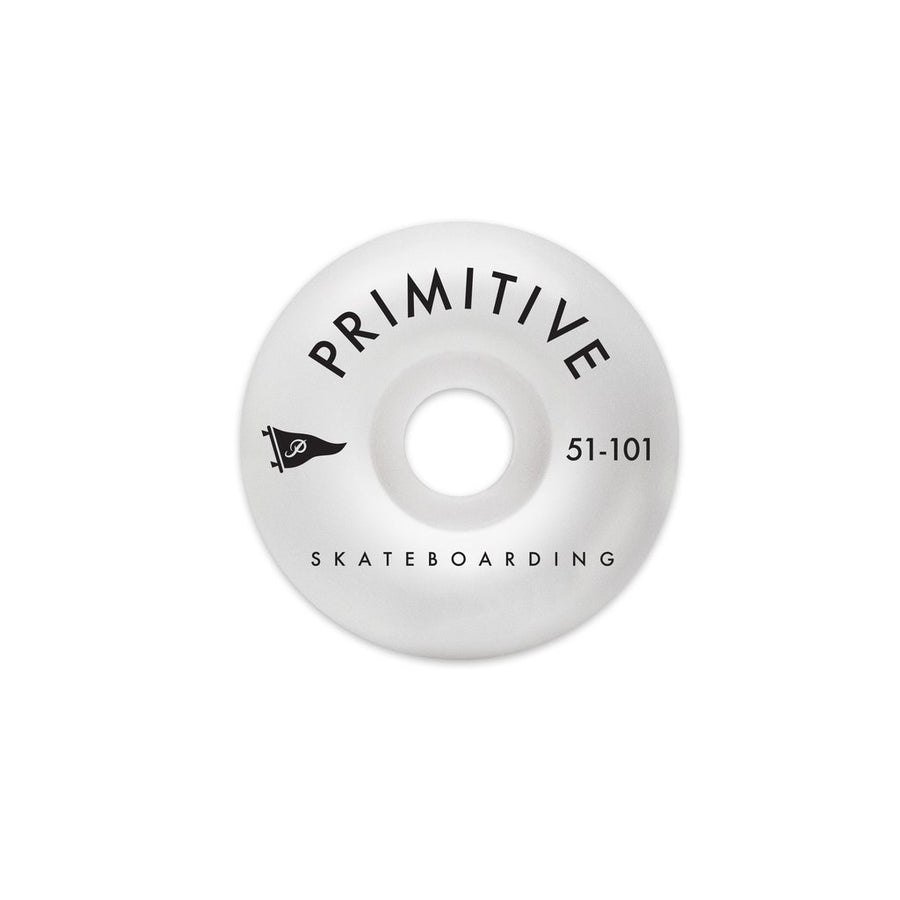 PRIMITIVE Pennant Arch Team 51mm Skateboard Wheels SKATE SHOP - Skateboard Wheels Primitive