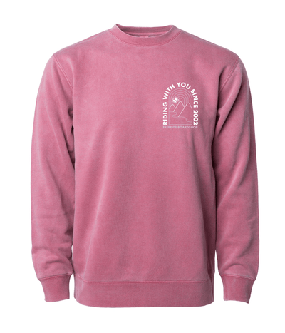 FREERIDE Ok Valley Crew Neck Women's Vintage Red WOMENS APPAREL - Women's Knits and Sweaters Freeride Boardshop