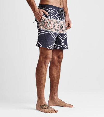 ROARK Chiller Beni Boardshorts Black MENS APPAREL - Men's Boardshorts Roark Revival