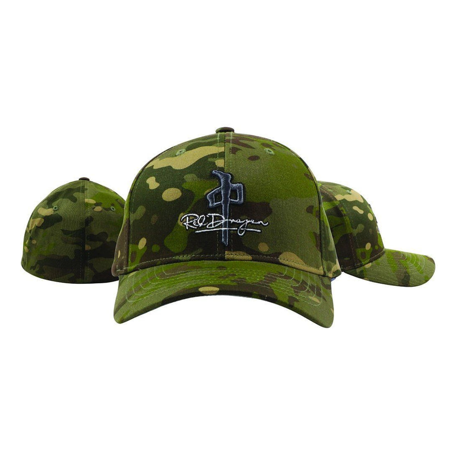 RDS Signature Flexfit Hat Camo MENS ACCESSORIES - Men's Baseball Hats RDS