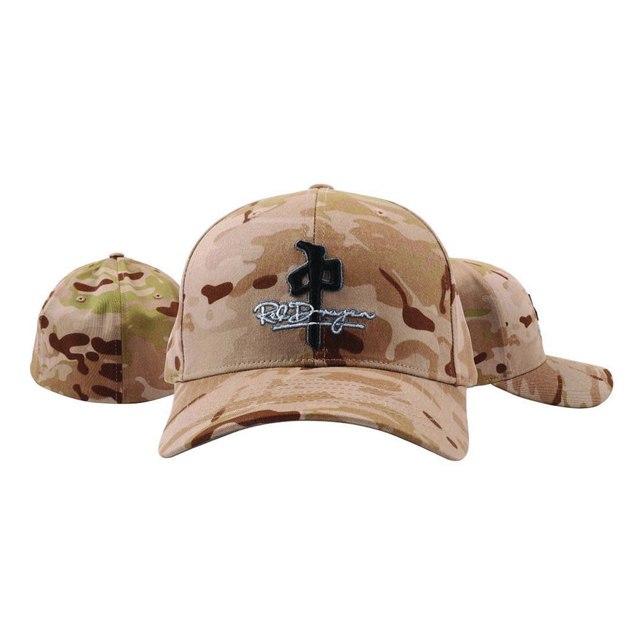RDS Signature Flexfit Hat Desert Camo MENS ACCESSORIES - Men's Baseball Hats RDS