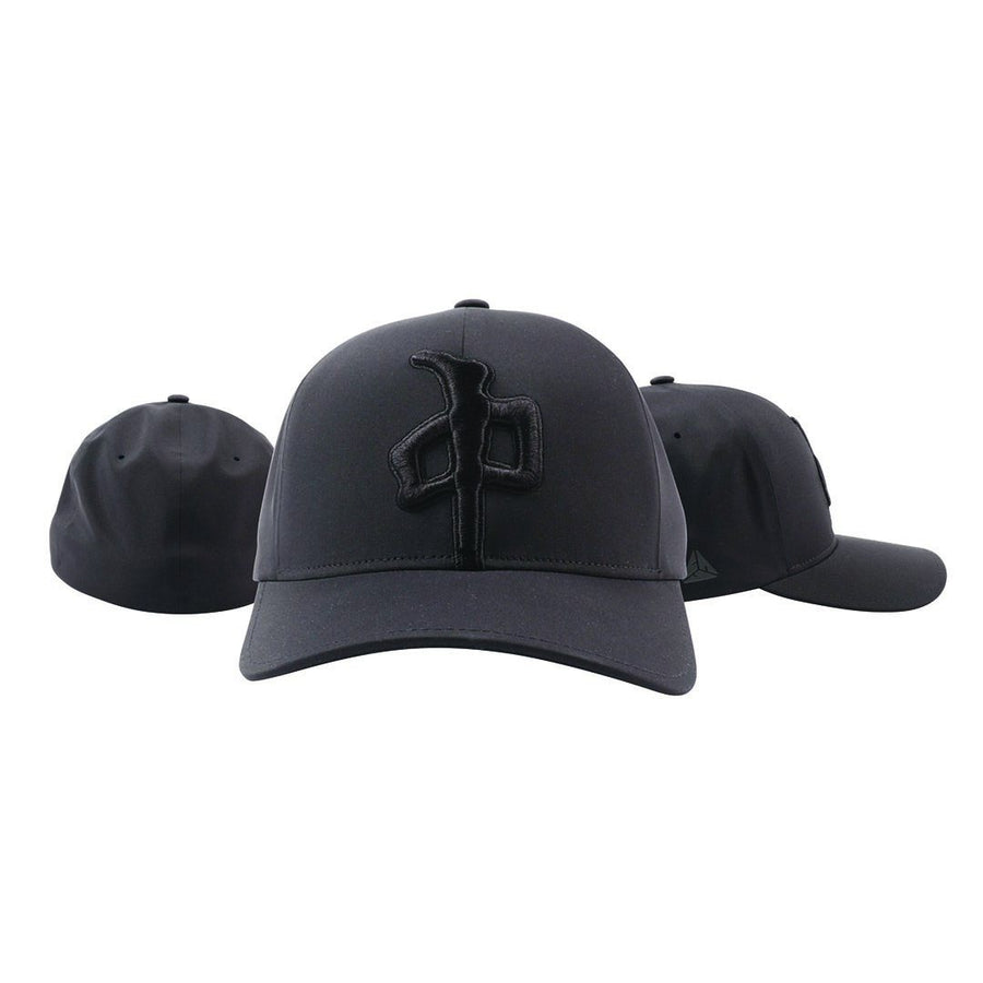 RDS XL Puffy Delta FlexFit Hat Black/ Black MENS ACCESSORIES - Men's Bucket Hats RDS S/M