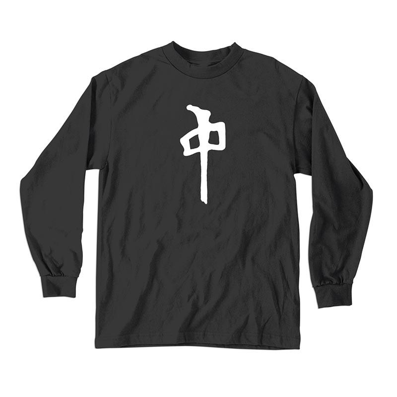 RDS Chung L/S T-Shirt Black/White MENS APPAREL - Men's Long Sleeve T-Shirts RDS
