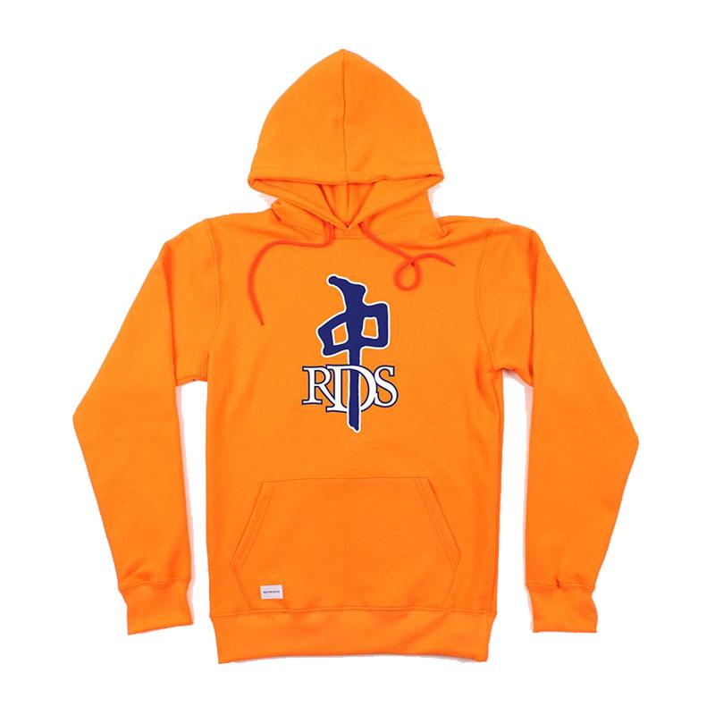 RDS OG Pullover Hoodie Orange/ Navy MENS APPAREL - Men's Pullover Hoodies RDS L