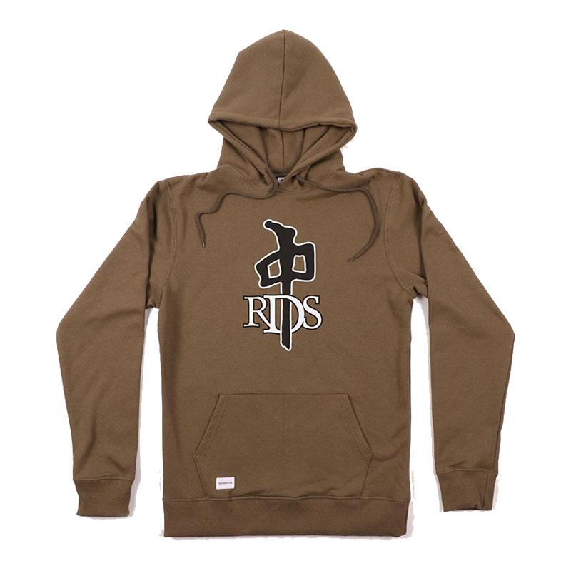RDS OG Pullover Hoodie Army Green/ Black MENS APPAREL - Men's Pullover Hoodies RDS L