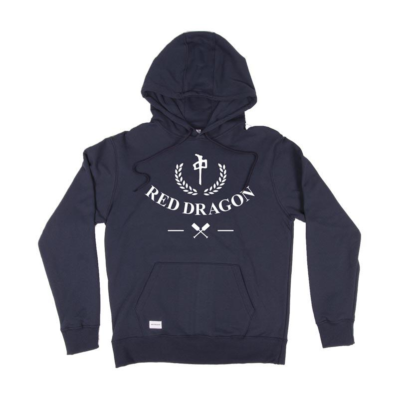 RDS Nautical Pullover Hoodie Navy MENS APPAREL - Men's Pullover Hoodies RDS
