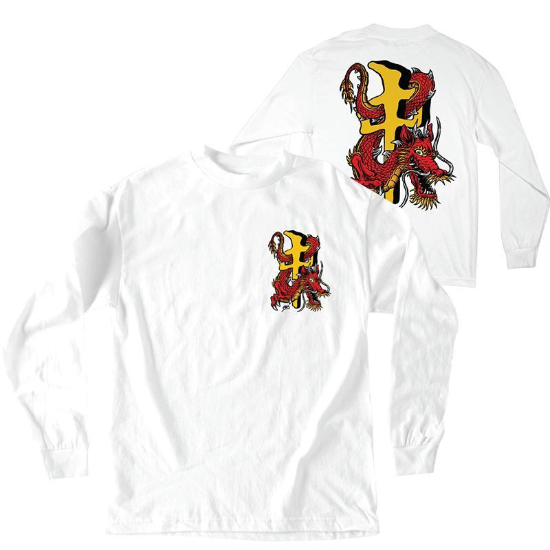 RDS RDS X Steve Caballero L/S T-Shirt White/Gold MENS APPAREL - Men's Short Sleeve T-Shirts RDS M