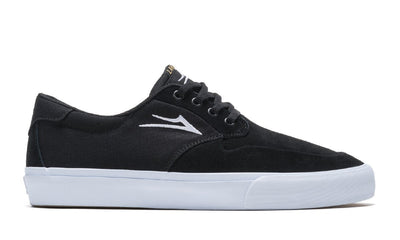 LAKAI Riley 3 Shoes Black Suede FOOTWEAR - Men's Skate Shoes Lakai 9