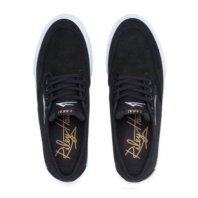 LAKAI Riley 3 Shoes Black Suede FOOTWEAR - Men's Skate Shoes Lakai