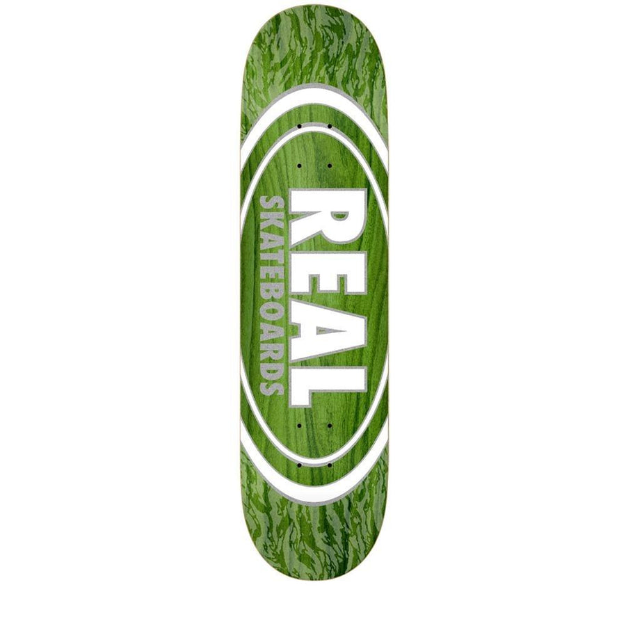 REAL Oval Patterns Team Series 8.06 Skateboard Deck SKATE SHOP - Skateboard Decks Real