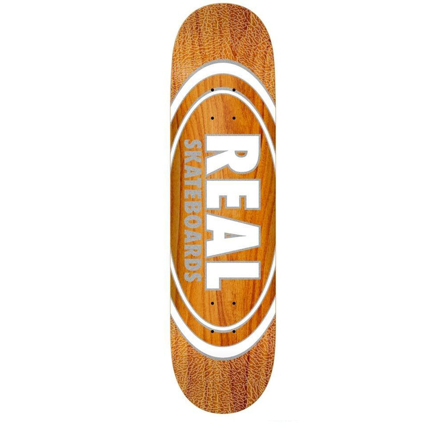 REAL Oval Patterns Team Series 8.38 Skateboard Deck SKATE SHOP - Skateboard Decks Real