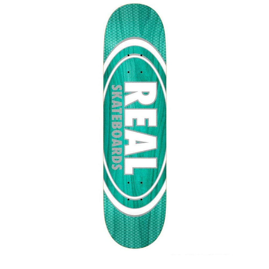 REAL Oval Patterns Team Series 8.5 Skateboard Deck SKATE SHOP - Skateboard Decks Real