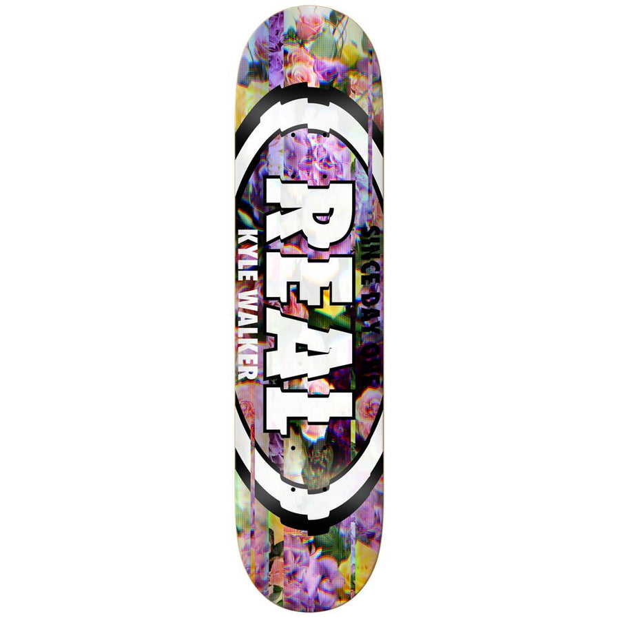 REAL Kyle Glitch 8.06 Skateboard Deck SKATE SHOP - Skateboard Decks Real