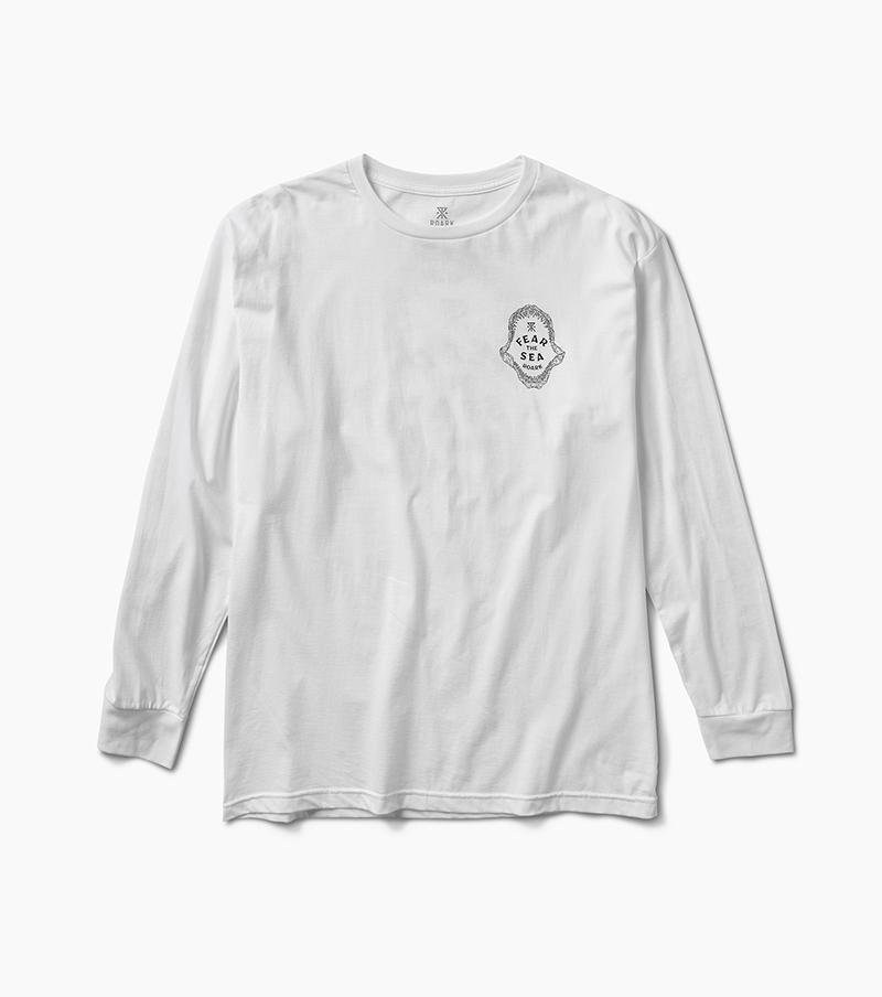 ROARK Within Reach L/S T-Shirt White MENS APPAREL - Men's Long Sleeve T-Shirts Roark Revival