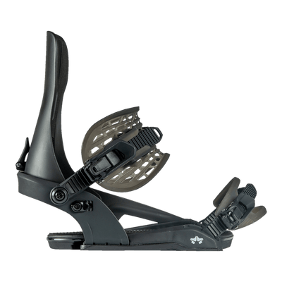 ROME Crux Snowboard Bindings Black 2021 SNOWBOARD BINDINGS - Men's Snowboard Bindings Rome M/L