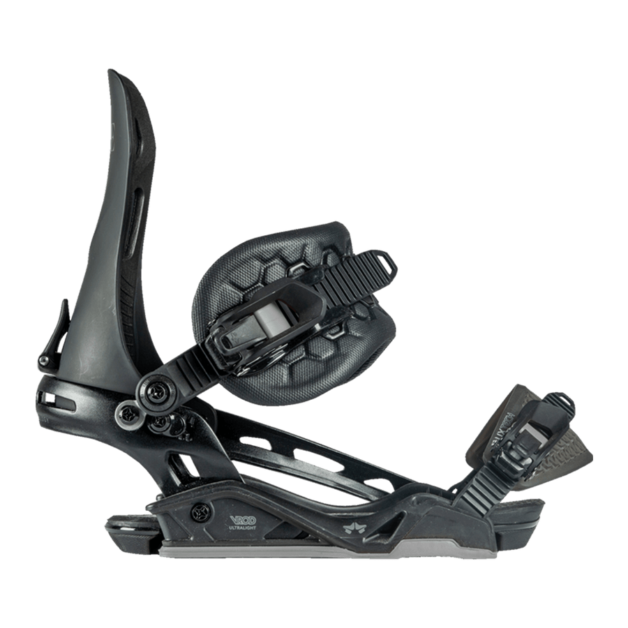 ROME Vice Snowboard Bindings Black 2021 SNOWBOARD BINDINGS - Men's Snowboard Bindings Rome