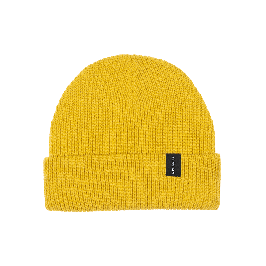 AUTUMN Select Beanie Safron MENS ACCESSORIES - Men's Beanies Autumn
