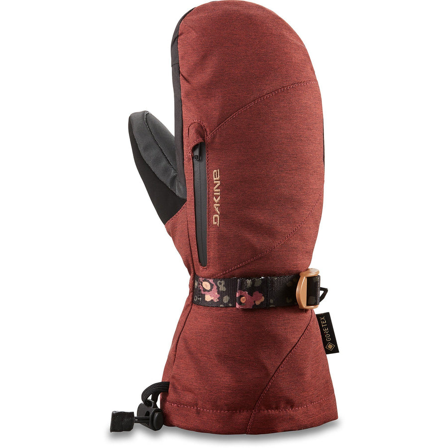 DAKINE Sequoia GORE-TEX Mitt Women's Dark Rose WINTER GLOVES - Women's Snowboard Gloves and Mitts Dakine S