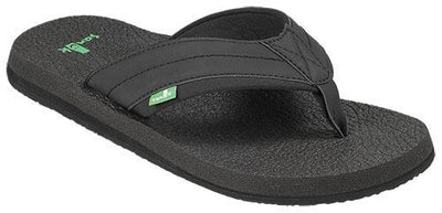 SANUK Beer Cozy 2 Sandals FOOTWEAR - Men's Sandals Sanuk BLACK 7