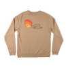 AUTUMN Spray Crew Sandstone MENS APPAREL - Men's Sweaters and Sweatshirts Autumn