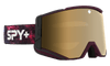 SPY Ace Galaxy Purple - HD Plus Bronze with Gold Spectra Mirror + HD Plus LL Persimmon with Silver Spectra Mirror Snow Goggle GOGGLES - Spy Goggles Spy