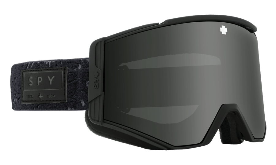 SPY Ace Onyx - HD Plus Gray Green with Black Spectra Mirror + HD Plus LL Persimmon with Silver Spectra Mirror Snow Goggle GOGGLES - Spy Goggles Spy