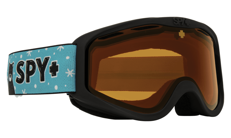 SPY Cadet Wildlife Friends - HD LL Persimmon Snow Goggle GOGGLES - Spy Goggles Spy