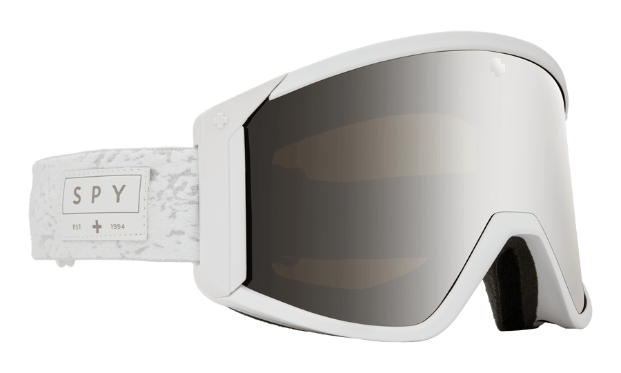 SPY Raider Alabaster - HD Bronze with Silver Spectra Mirror + HD LL Persimmon Snow Goggle GOGGLES - Spy Goggles Spy