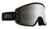 SPY Raider Glacial Black - HD Bronze with Silver Spectra + HD LL Persimmon Snow Goggle GOGGLES - Spy Goggles Spy