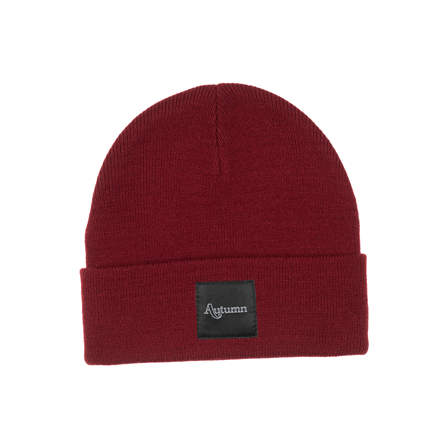 AUTUMN Surplus Beanie Burgundy Freeride Boardshop